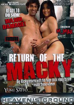 "Adult entertainment movie ""Return Of The Macky"" starring Yumi Saito, Iris Fischer & Bruna Ferraz. Produced by Hell's Ground Production."