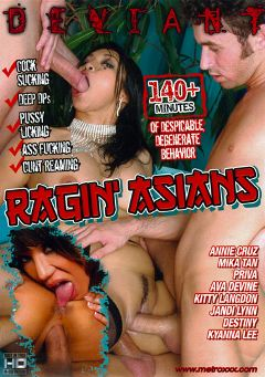 "Adult entertainment movie ""Ragin' Asians"" starring Kyanna Lee, Annie Cruz & Jandi Lin. Produced by Deviant."