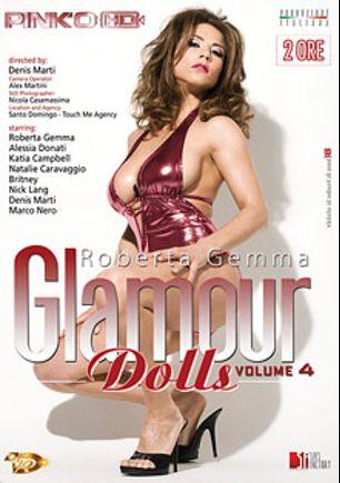 Glamour Dolls 4, starring Roberta Missoni, Janka Kiss, Kathia Nobili, Natalie Colt, Alessia Donati, Black Angelica, Marco Nero, Denis Marti and Nick Lang, produced by Pinko Enterprises.