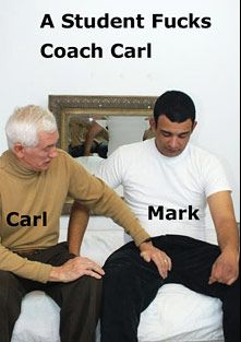 A Student Fucks Coach Carl, starring Mark (Hot Clits) and Carl Hubay, produced by Hot Dicks Video.