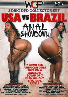 "Adult entertainment movie ""USA Vs Brazil Anal Showdown Part 2"" starring Sumaia, Aninha & Prince Yahshua. Produced by West Coast Productions."
