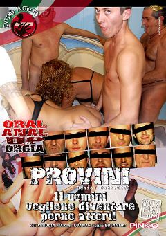 "Adult entertainment movie ""Provini"" starring Luana (f), Nonna Suzanna & Claudia Marini. Produced by Pinko Enterprises."