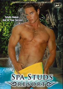 Spa Studs Resort, starring Christian St. Jon, Clint Peak, Sarah Rodriquez, Jed Dodds, Jay Atherton, Troy Mycles, Wes Crenshaw, Sammy Jones, Cody Miller, Johnny Castle and Rebecca Love, produced by Sharpshooter Studios.