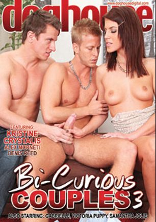 Bi Curious Couples 3, starring Alex Morneti, Denis Reed, Victoria Puppy, John Parker, Kristine Crystalis, Benito Moss, Danny Montero, Paris Nio, Samantha Jolie, Ennio Guardi, Tomm and Gabrielle, produced by Mile High Media and Doghouse Digital.