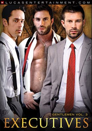 Gentlemen 3: Executives, starring Avi Dar, Kyle King, Rafael Alencar, Aaron Blake, Marc Dylan, Dirk Caber, Logan Stevens, Valentin Petrov, Mitch Branson and Robert Van Damme, produced by Lucas Entertainment.