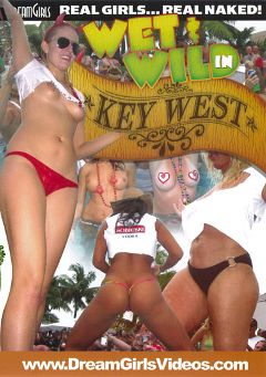 "Adult entertainment movie ""Wet And Wild In Key West"". Produced by Dream Girls."