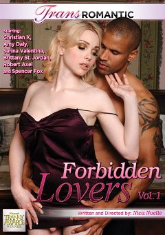 "Adult entertainment movie ""Forbidden Lovers"" starring Amy Daly, Ian Whitcomb & Sarina Valentina. Produced by TransRomantic."