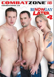 Bi Now, Gay Later 4, starring Andy West, Georgio Black, Mea Melone, Victoria Puppy, Max Born, Angel Face, Ennio Guardi, Denis Reed, Kelly and Chris Young, produced by Combat Zone.