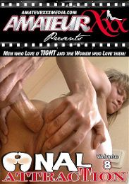 "Featured Category - All Sex presents the adult entertainment movie ""Anal Attraction 8""."