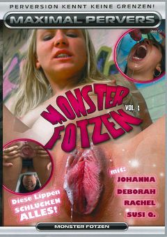 "Adult entertainment movie ""Monster Fotzen"" starring Johanna (f), Rachel & Susy Q. Produced by Maximal Pervers."