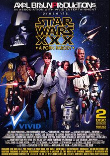Star Wars XXX A Porn Parody, starring Brandy Aniston, Aiden Ashley, Allie Haze, Eve Laurence, Kimberly Kane, J. Champ, Nick Danger, Kris Kelvin, Joe Spewgemante, Benjamin Airey, Shylar Cobi, Lizzy London, Eli Cross, Andy Appleton, Rylie Richman, Rihanna Rimes, Ryan McLane, Gia Dimarco, Michael Vegas, Lily Cade, Brian Street Team, Seth Gamble, Ryan Driller, Peter O Tool, Jennifer White, Rocco Reed, Danny Wylde, Dick Chibbles, Tommy Pistol, Marcus London, Derrick Pierce, Tommy Gunn, Alec Knight, Kris Slater, Jennifer Dark, Chi Chi LaRue, Lexington Steele, Kylie Ireland, Tom Byron and Kyle Stone, produced by Vivid Entertainment.