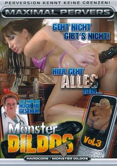 "Adult entertainment movie ""Monster Dildos 3"". Produced by Maximal Pervers."