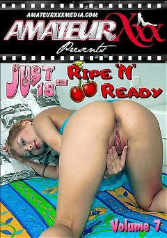 "Adult entertainment movie ""Just 18 - Ripe 'N' Ready 7"" starring April, Julie (Platinum Media) & Anya. Produced by Amateur Xxx."