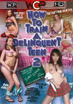 "Adult entertainment movie ""How To Train A Delinquent Teen 2"" starring Marika Hase, Pressley Carter & Tiffany D'Gore. Produced by West Coast Productions."