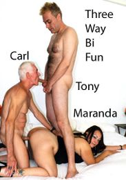 "Just Added presents the adult entertainment movie ""Three Way Bi Fun""."