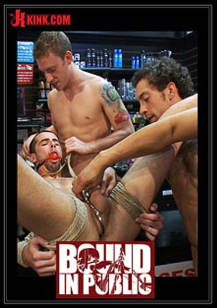 Bound In Public: Tristan Jaxx And Jake Steel, starring Tristan Jaxx and Jake Steel, produced by KinkMen.