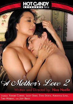 "Adult entertainment movie ""A Mother's Love 2"" starring Lucky Starr (f), Adrianna Luna & Xander Corvus. Produced by Hot Candy Films."