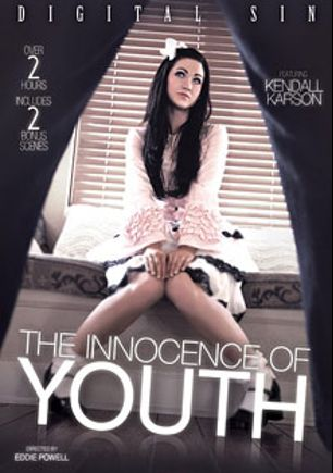 The Innocence Of Youth, starring Kendall Karson, Richie's Brain, Gia Steel, Riley Reid, Michael Vegas, Chastity Lynn, Mark Ashley and Danny Mountain, produced by Digital Sin.