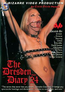 The Dresden Diary 24, starring Deva Station, Chloe, Chandler, Mia Smiles, Ryan Moore, Mistress Ilsa Strix, Ernest Greene and John Decker, produced by Bizarre Video Productions.
