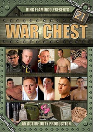 War Chest 21, starring Brennan, Gamble, Kieran, Colton, Neal, Rick, Timmy, Zane, Conner and Paul, produced by Active Duty.