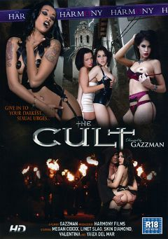 "Adult entertainment movie ""The Cult"" starring Valentina Nappi, Linet Slag & Megan Coxxx. Produced by Harmony Films Ltd.."