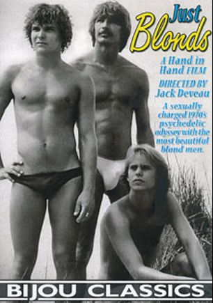 Just Blonds, starring Philip Wagner, Eric Ryan, Scorpio, Damien III, Hugh Allen, Ken Carter and Lee Marlin, produced by Bijou Gay Classics.