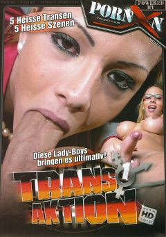 "Adult entertainment movie ""Trans Aktion"". Produced by Porn XN."