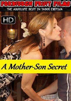 "Adult entertainment movie ""Mother-Son Secret"" starring Jodi West, Frankie Vegas & Peter Delmar. Produced by Forbidden Fruits Films."