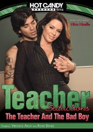 "Featured Studio - Hot Candy presents the adult entertainment movie ""Teacher Seductions: The Teacher And The Bad Boy""."