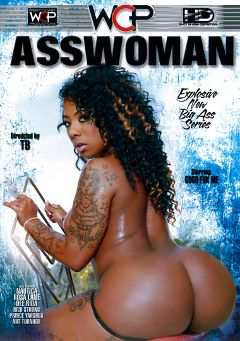 "Adult entertainment movie ""AssWoman"" starring Gogo Fukme, Rosa Lane & Dee Rida. Produced by West Coast Productions."