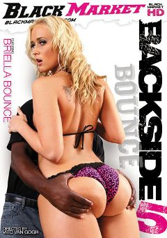 "Adult entertainment movie ""Back Side Bounce 5"" starring Briella Bounce, Chris Cock & Mr. Ken. Produced by Black Market Entertainment."