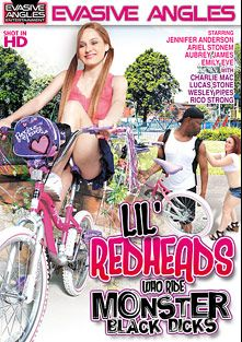 Lil' Redheads Who Ride Monster Black Dicks, starring Emily Eve, Jennifer Andersson, Ariel Stonem, Lucas Stone, Rico Strong, Charlie Mack, Audree Jaymes and Wesley Pipes, produced by Evasive Angles.