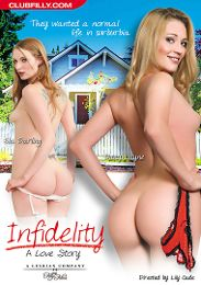 """Featured Star - Amber Rayne presents the adult entertainment movie """"Infidelity: A Love Story""""."""