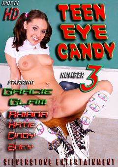 "Adult entertainment movie ""Teen Eye Candy 3"" starring Gracie Glam, Rhinana & Fey Knight. Produced by Silverstone."