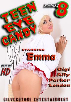 "Adult entertainment movie ""Teen Eye Candy 8"" starring Emma Mae, Bruce Venture & Gigi Rivera. Produced by Silverstone."