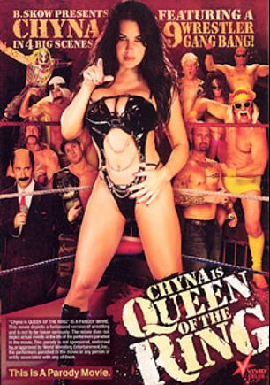 Chyna Is Queen Of The Ring, starring Joanie Laurer, John Huck, Valerie Kay, Brendon Miller, Cyrus King, Ralph Long, Tommy Pistol, Justin Magnum, Marco Banderas, Sledge Hammer, Anthony Hardwood, Lee Stone, T.J. Cummings, Lisa Ann, Alex Sanders, Ron Jeremy and Evan Stone, produced by Vivid Entertainment.