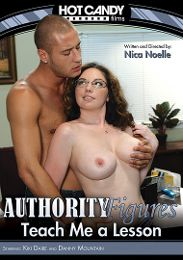 "Featured Studio - Hot Candy presents the adult entertainment movie ""Authority Figures: Teach Me A Lesson""."