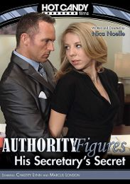 "Featured Studio - Hot Candy presents the adult entertainment movie ""Authority Figures: His Secretary's Secret""."