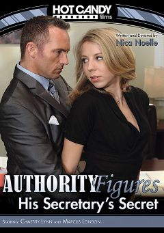"Adult entertainment movie ""Authority Figures: His Secretary's Secret"" starring Chastity Lynn & Marcus London. Produced by Hot Candy Films."