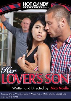 "Adult entertainment movie ""Her Lover's Son"" starring Jeannie Marie, Sophie Dee & Dana Vespoli. Produced by Hot Candy Films."