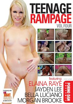 "Adult entertainment movie ""Teenage Rampage 4"" starring Kyleigh Ann, Morgan Brooke & Bella Luciano. Produced by Immoral Productions."