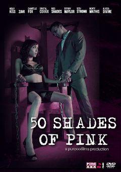 "Adult entertainment movie ""50 Shades Of Pink"" starring Alyssa Divine, Crystal Coxxx & Tiffany Naylor. Produced by Purexxxfilms."