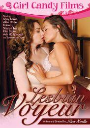 "Editors' Choice presents the adult entertainment movie ""Lesbian Voyeur""."