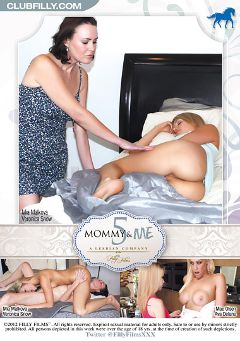 "Adult entertainment movie ""Mommy And Me 5"" starring Mia Malkova, Ava Delane & Mae Olsen. Produced by Filly Films."