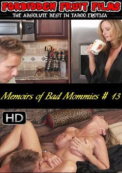 "Adult entertainment movie ""Memoirs of Bad Mommies 13"" starring Jodi West, Tara Holiday & Levi Cash. Produced by Forbidden Fruits Films."