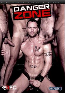 Danger Zone, starring Drew Sumrok, Randy Harden, Luca Bondi, Dylan Hyde, Morgan Black, Brandon Hawk, Antonio Biaggi and Matt Sizemore, produced by Dark Alley Media and Raw Fuck Club.