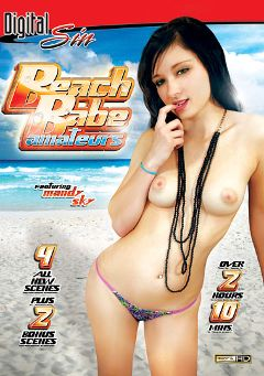 "Adult entertainment movie ""Beach Babe Amateurs"" starring Mandy Sky, Mirko Steel & Bruno Dickems. Produced by Digital Sin."