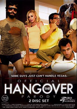 Official The Hangover Parody, starring Lexi Belle, Jordan Epstein, Brooklyn Lee, Skin Diamond, Spock Buckton, Nate Liquor, Tori Black, Dane Cross, Tommy Pistol, Misty Stone, Alex Gonz, Dana DeArmond, James Deen, Marco Banderas, Kimberly Kane, Mika Tan and Ron Jeremy, produced by Zero Tolerance.
