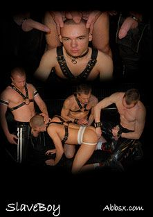 SlaveBoy, starring RedMuscl, Oscar Smart, Jacob Buckley, Louie Atkins and Declan Birch, produced by ABBSX.