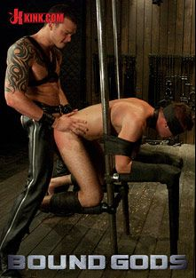 Bound Gods: Van Darkholme, Matthew Singer And Cliff Jensen, starring Cliff Jensen, Matthew Singer and Van Darkholme, produced by KinkMen.